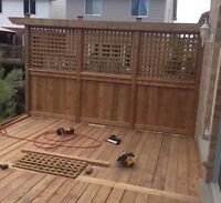 GLL - DECKS AND FENCES - HUGE DISCOUNTS