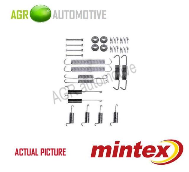 MINTEX REAR BRAKE SHOES SET FITTING KIT PIN SPRINGS GENUINE QUALITY - MBA712