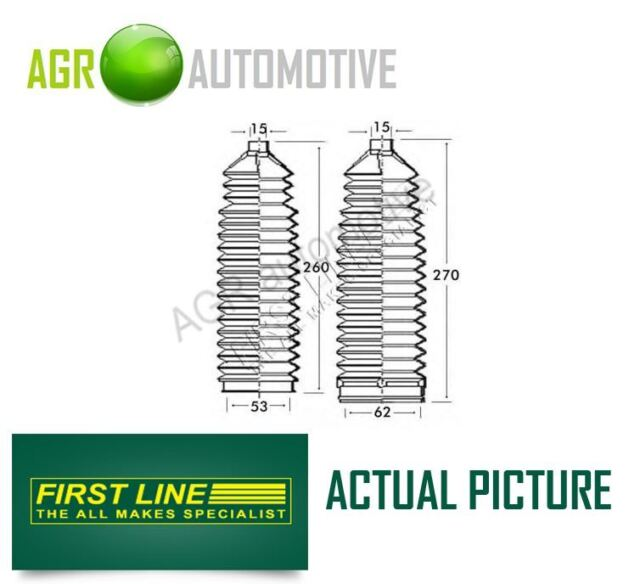 FIRST LINE FRONT STEERING RACK GAITER KIT OE QUALITY REPLACE FSG3228