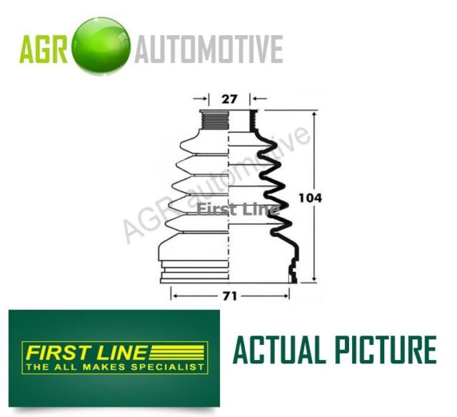 FIRST LINE TRANSMISSION END DRIVESHAFT CV JOINT BOOT KIT OE QUALITY FCB2878