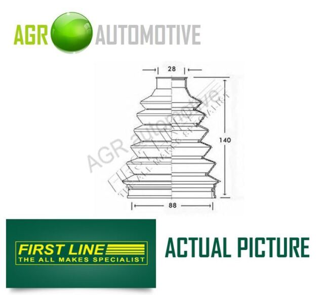 FIRST LINE WHEEL SIDE DRIVESHAFT CV JOINT BOOT KIT OE QUALITY REPLACE FCB2339