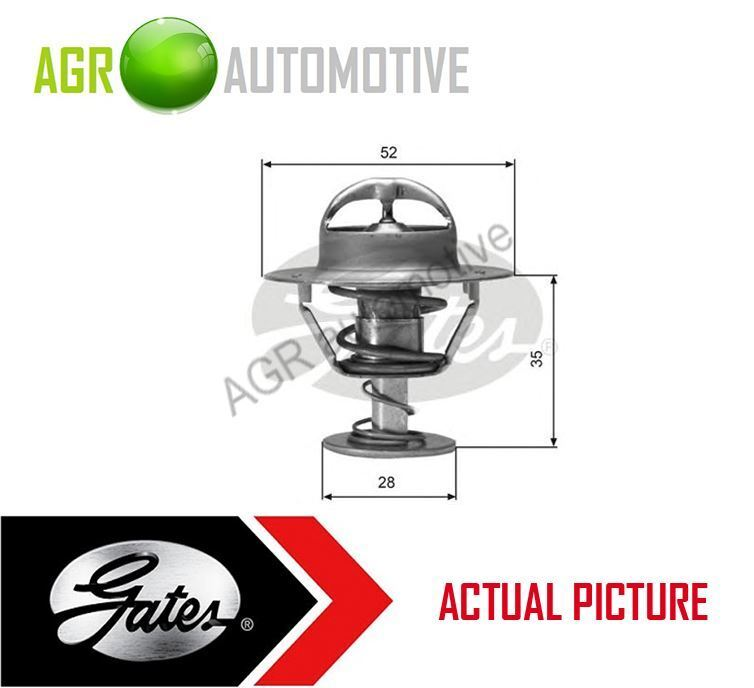 GATES COOLANT THERMOSTAT OE QUALITY REPLACE TH04382G1