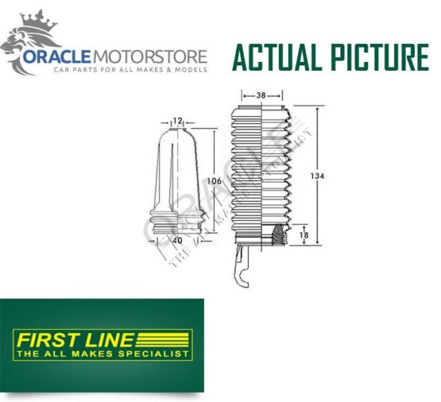NEW FIRST LINE FRONT STEERING RACK GAITER KIT OE QUALITY REPLACEMENT - FSG3225