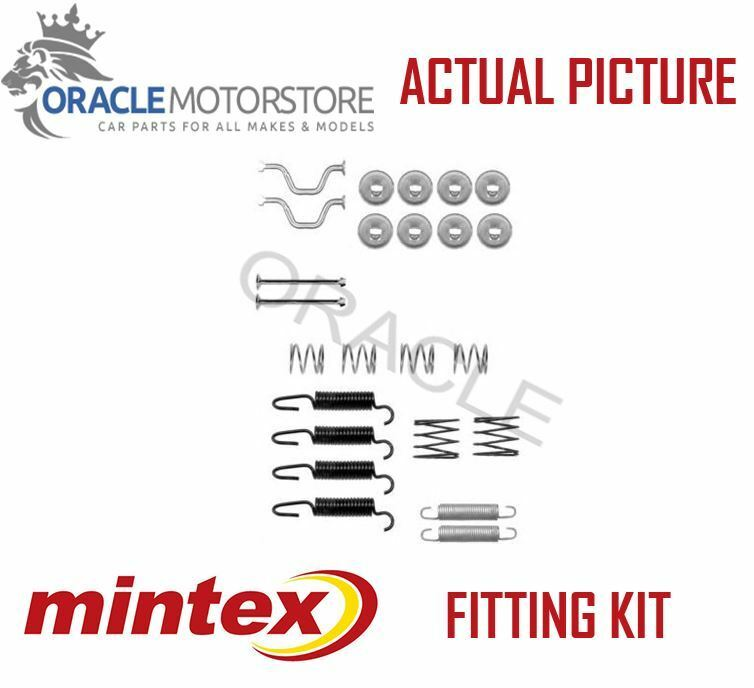 NEW MINTEX REAR PARKING BRAKE SHOES SET FITTING KIT GENUINE OE QUALITY MBA816