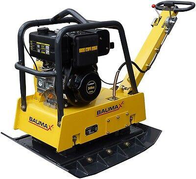 Rüttelplatte BAUMAX RVP38/67 Diesel 270 kg, reversierbar, inkl. Verbreiterungen