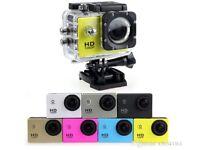 1080P Full HD Action Digital Sport Camera 2 Inch Screen Under Waterproof 30M DV Recording Mini