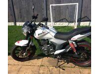 Ksr moto 125cc motorbike