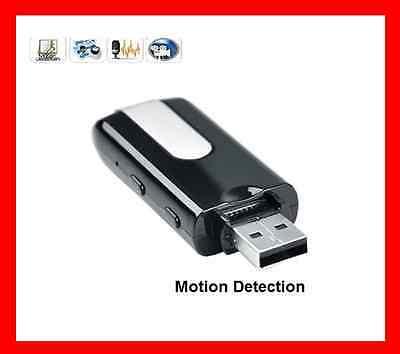 CLE USB ENREGISTREUR CAMERA CACHEE AUDIO VIDEO DETECTEUR SECURITE ESPION NEUVE