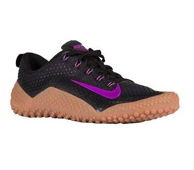 Nike Free Trainer 1.0 Bionic Black Vivid Purple Gum 807436-052 Mens Size 12 (Purple Gum)