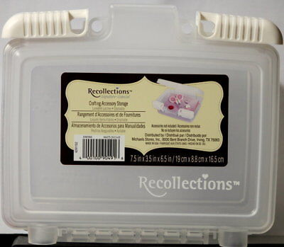Recollections Lockable Crafting Accessory Storage Container