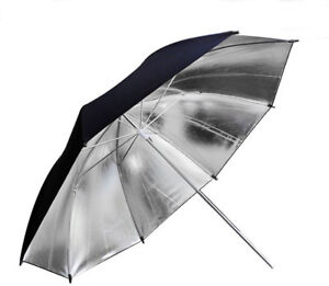 Umbrellas: Black with Silver Liner and Translucent