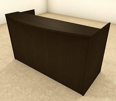 2pc Rectangular Modern Office Reception Desk Set Ot-sul-r4