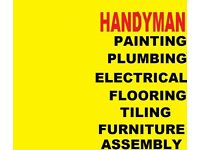 PAINTING DECORATING ROOMS,FLATS ,HOUSES ,TILING ,CARPENTRY,PLUMBING,FLOORING, ELECTRICAL