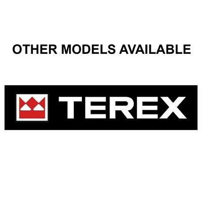 Terex Pt30 Decal Sticker - Tracks Loader Skid Steer Bucket Emblem