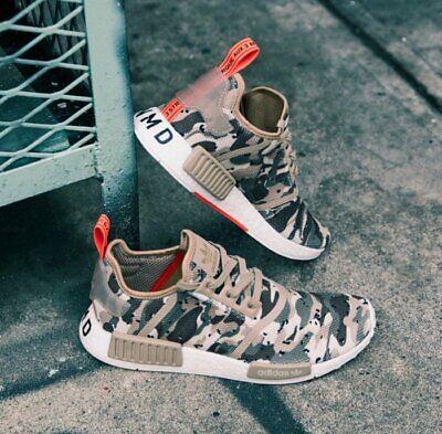 de9f2ce9d adidas Originals NMD R1 Shoes Men s (size 8.5 - 13) Camo Pack Brown White