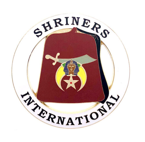 Deluxe Shriners International car emblem 3 inch #CD15