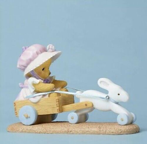 """Cherished Teddies #4051038 JINNY """"SPRING IS ON ITS WAY"""" NEW From Retail Store 3"""""""