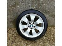 BMW ALLOY WHEELS AND TYRES.