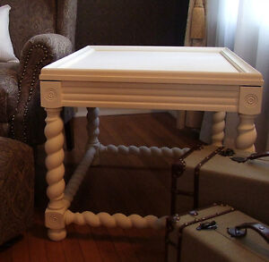 Queen Anne and Jacobean style side tables London Ontario image 1