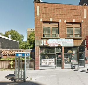 Commercial space in the heart of downtown!! BLVD.St.Laurent