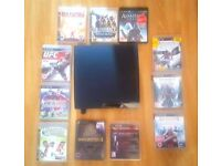 Sony PlayStation 3 Slim 120GB (PS3) Console and games
