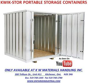 KWIK-STOR PORTABLE STORAGE CONTAINERS. KWIK STOR STORAGE UNITS Kitchener / Waterloo Kitchener Area image 3