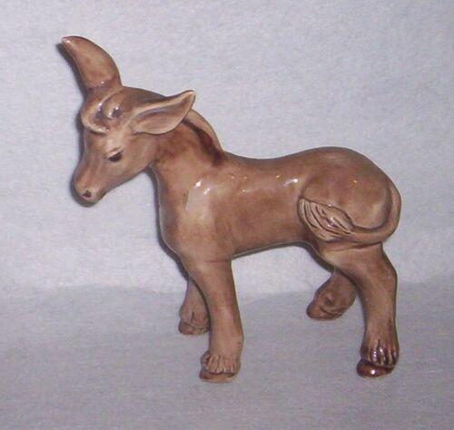 Ceramic DONKEY Figurine 1976