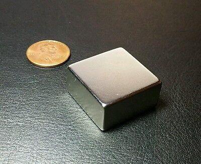 N52 1 X 1 X 12 Neodymium Magnet Block Grade Super Strong Rare Earth