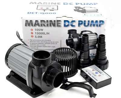 JEBAO/JECOD DCS/DCT/DCP 15000 DC MARINE CONTROLLABLE WATER RETURN PUMP - GREY