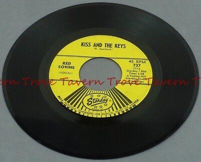 1965 Country RED SOVINE Giddyup Go / Kiss And The Keys VG+ 7