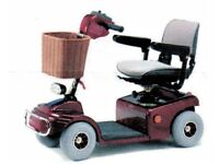 """Shoprider """"Sovereign 4"""" Deluxe Mobility Scooter. Used 3 times only and in as new condition."""