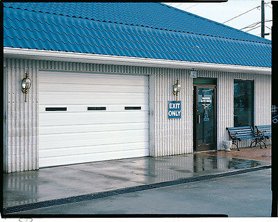 Duro Steel Amarr 2402 Series 16 Wide By 14tall Commercial Overhead Garage Door