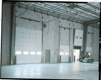 Duro Dagger Amarr 2402 Series 14' Wide by 14'Tall Commercial Up in the air Garage Door