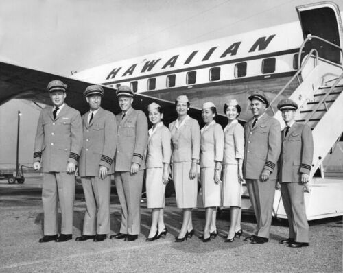 "Hawaiian Airlines Convair 340 ((8.5""x11"")) Print"