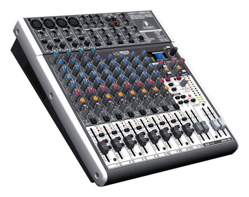 Behringer XENYX X1622USB 16-Channel Live Sound Mixer Board + USB & FX MAKE OFFER