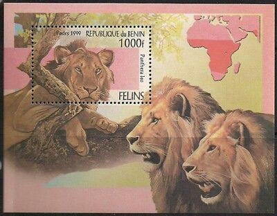 Benin Stamp - Wild Cats Stamp - NH