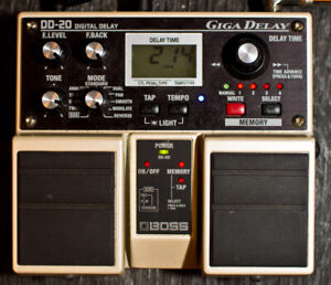 Boss DD-20 Delay / effects/ Looper - unused - sell or trade