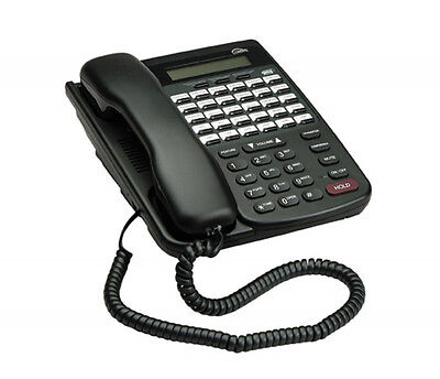 Comdial Dx80 Dx-80 7260-00 Hac Black Lcd Office Phone Refurbished Year Warranty