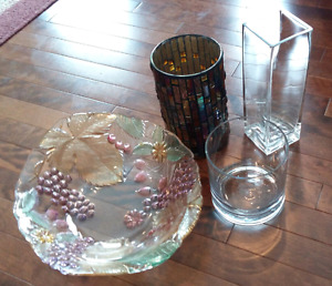 Assorted Vases and Bowl