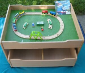 Thomas the train book,with small train set