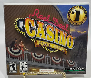 REEL DEAL CASINO GOLD RUSH PC SOFTWARE NEW