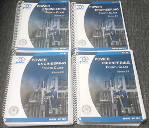 4th Class Power Engineering books.