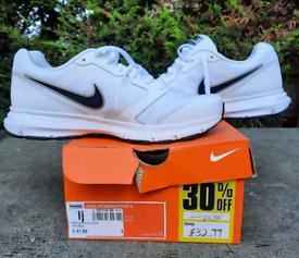 White Nike trainers UK size 7