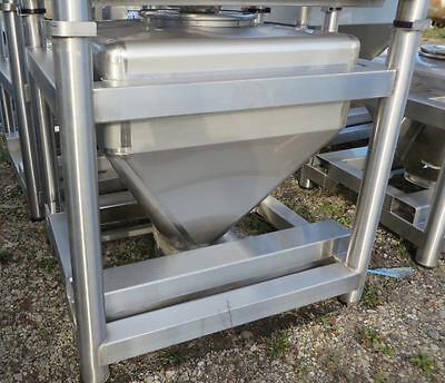 Tote Inc 18 Cft Stainless Steel Bins