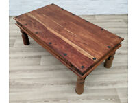 Solid Wood Coffee Table (DELIVERY AVAILABLE)