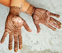 EID MEHENDI AT HENNA AND TRENDS STUDIO WESTWOOD MALL MISSISSAUGA