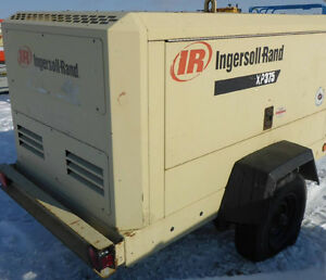 INGERSOLL RAND XP375WIR S/A Air Compressor