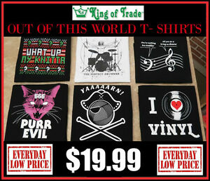 NEW! Out of this World T-Shirts! - King of Trade