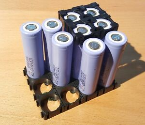 Samsung 18650-22P rechargeable Li-Ion batteries - 3.7V 2150 mAh