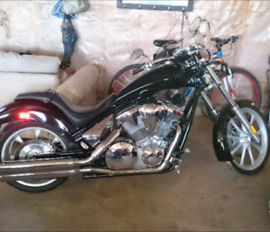 2010 HONDA FURY CHOPPER MOTORCYCLE VT1300CX